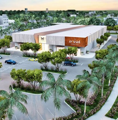 orlando area food hall located in kissimmee called the gr!eat gourmet place