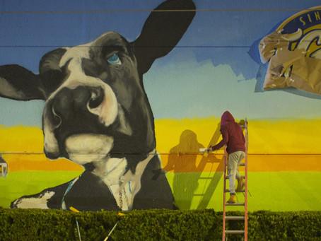 Milk Mural Makes Mark in the Milk