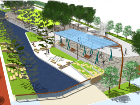 Lake Nona Creatively Turns Stormwater Management On Its Ear With New Half-Mile Long Park