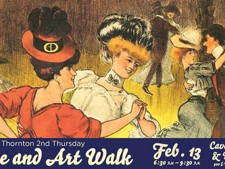 Thornton 2nd Thursday Wine & Art Walk!