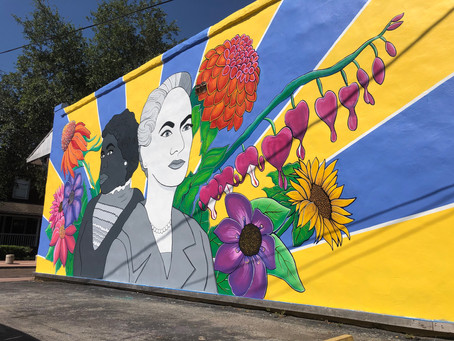 Thornton Park Mural Celebrates 1920 Passing of 19th Amendment