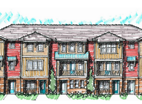 Site Plan for New Milk District 40-Home Infill Redevelopment