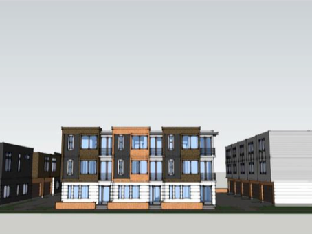 """The """"Thornton Park 11"""" Townhouse Project Coming to Robinson & Hyer"""