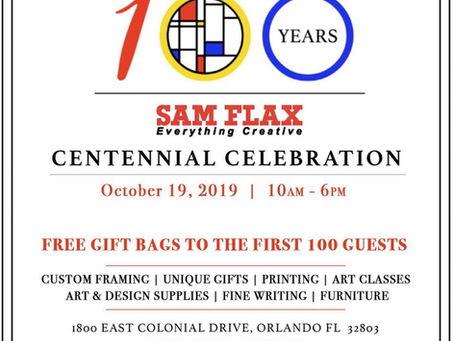 Sam Flax Centennial Celebration