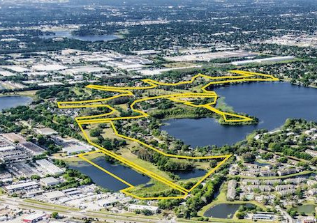 Lake Orlando Project to Transform 128 Acres Inside Rosemont Neighborhood