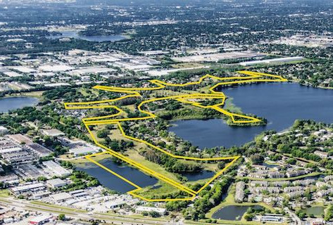 Lake Orlando Project to Transform 128 Acres Inside Rosemont Neighborhood