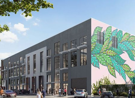Fulcrum Adaptive Reuse Project to Bring Offices, Retail and Food to Busy Downtown Corner