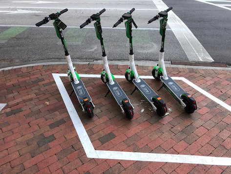 How to Report Incorrectly Parked Scooters and Bikes Downtown