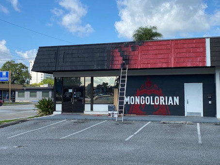 Sideways robot pots will stir your bowl at The Mongolorian when it opens in Mills50