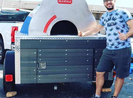 Pizza Trailer Coming by the Owners of Cala La Pasta - Orlando Food Truck