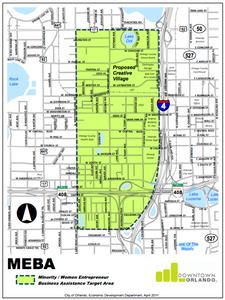 The Minority / Women Entrepreneur Business Assistance Target Area | Downtown Orlando
