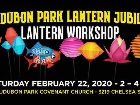 Audubon Park Lamp Jubilee Lantern Workshop