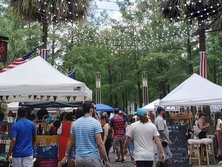 The Florida Vintage Market at Wall St. Plaza