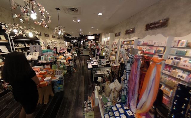 Interior of the card shop called Papyrus inside mall at Millenia