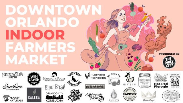 Downtown Orlando Indoor Farmers Market
