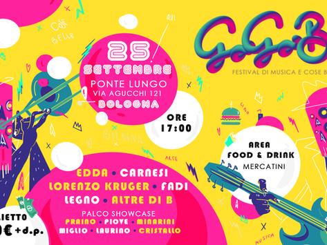 Il 25 settembre, musica e atmosfere bellissime a Bologna con il GO GO BO.