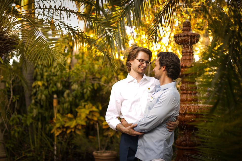 Same-sex wedding in Miami