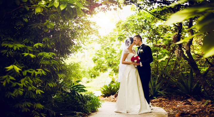Wedding in Coconut Grove