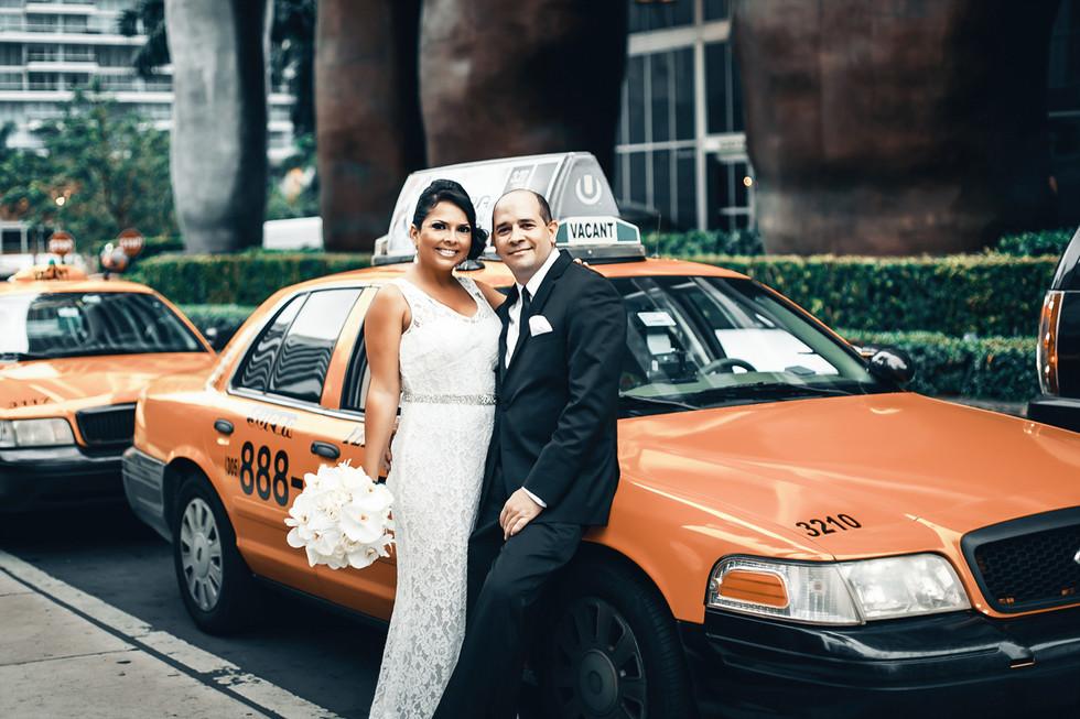 Non-traditional wedding in Miami