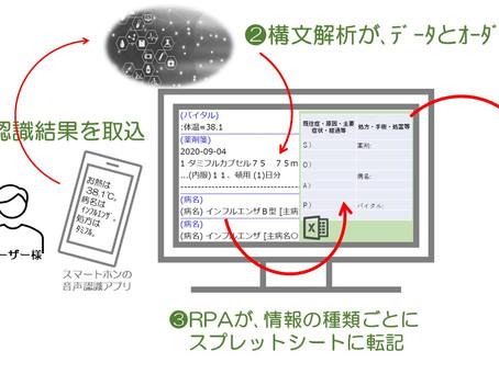 スマート医療秘書=kanata!=が、紙カルテをご利用中のドクターをサポート!