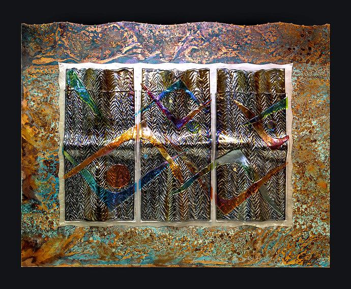 Glass Wall Art by Dan Neil Barnes