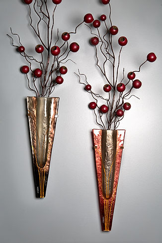 Mark Hines Wall Vase