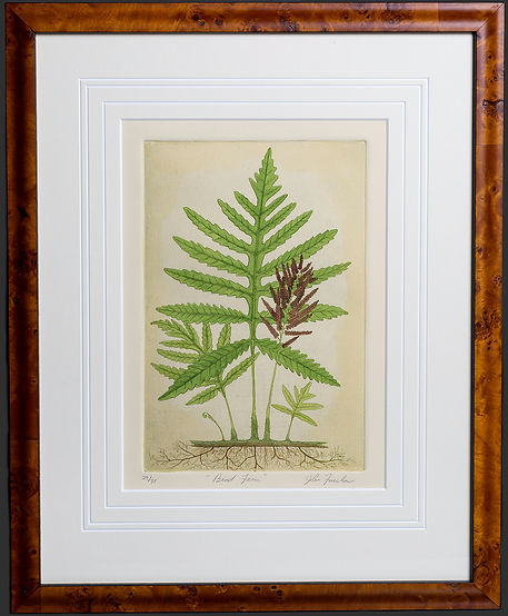 Bead Fern Etching