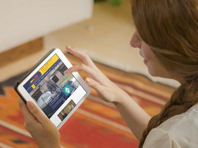 CARSS Website iPad