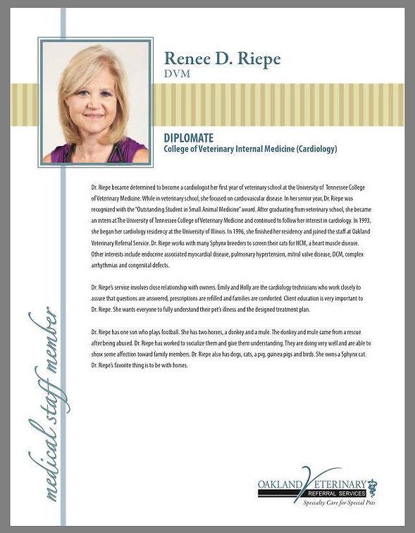 Doctor Renee D. Riepe