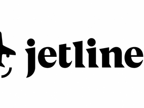 Can you spot the hidden symbol in this airline logo?