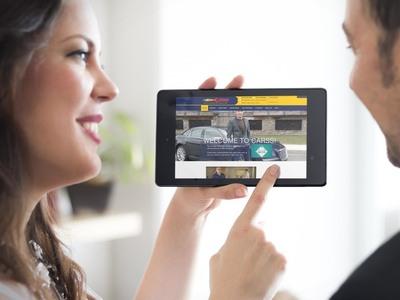 CARSS Website Tablet
