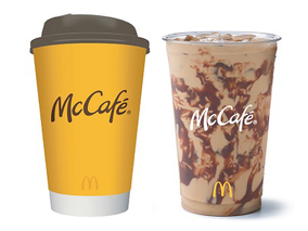 McDonald's coffee chain gets a (very) subtle makeover