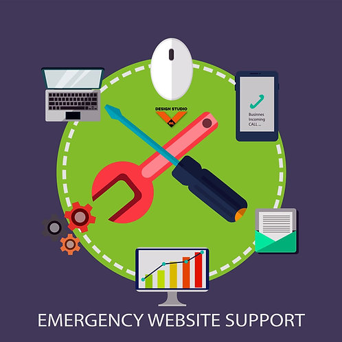 Emergency Online maintenance support (hourly price)