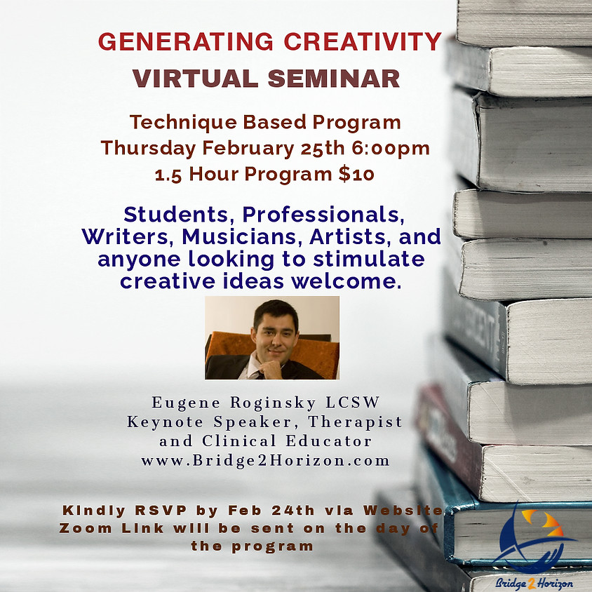 GENERATING CREATIVITY
