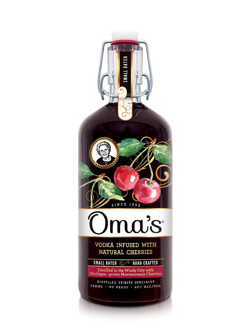 Oma's Cherry Vodka