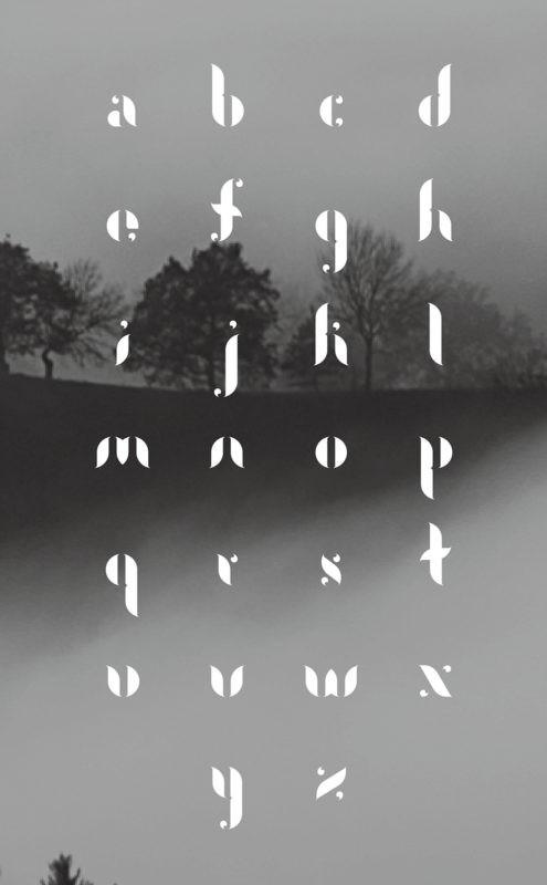 Tipografias diferentes para inspirar