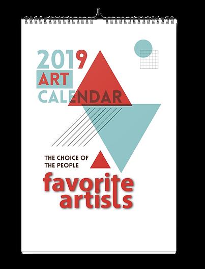 2109 Art Wall Calendar