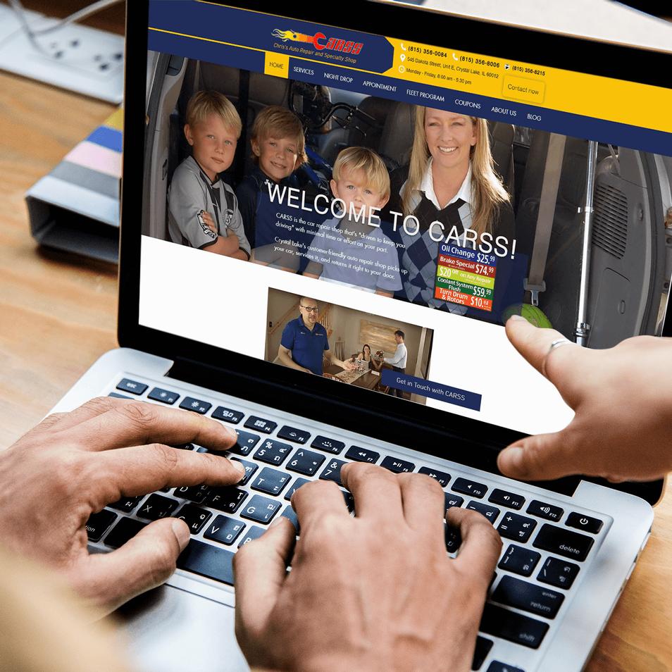 Car care company website