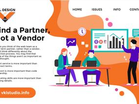 Find a Partner, not a Vendor