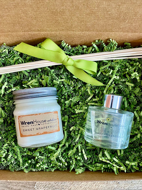 Small Diffuser and Candle Gift Box