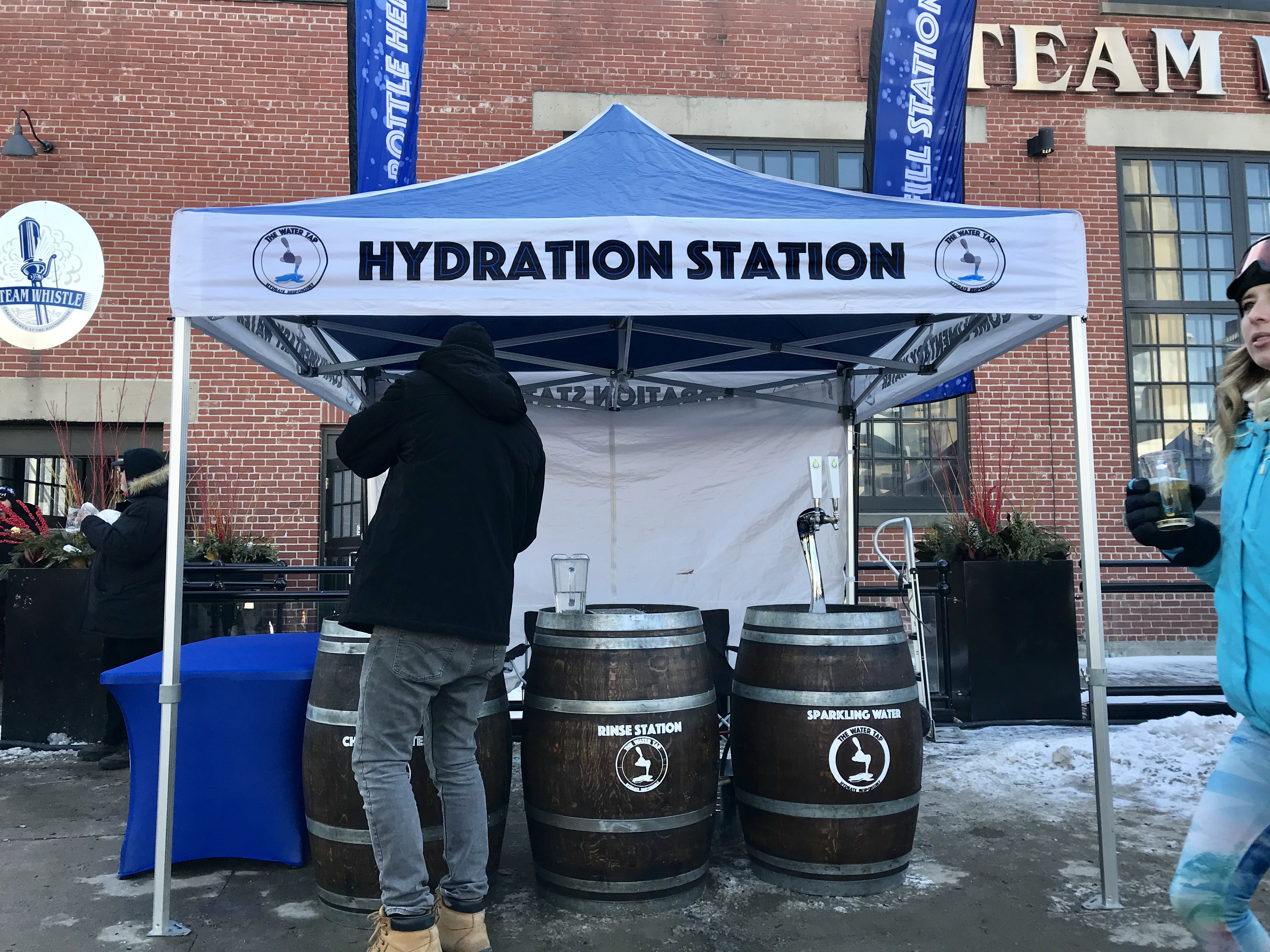 Steam Whistle Outdoor Winter Beer Festiv
