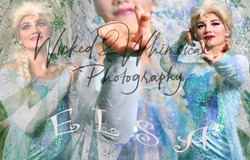 Elsa Cosplay Composite