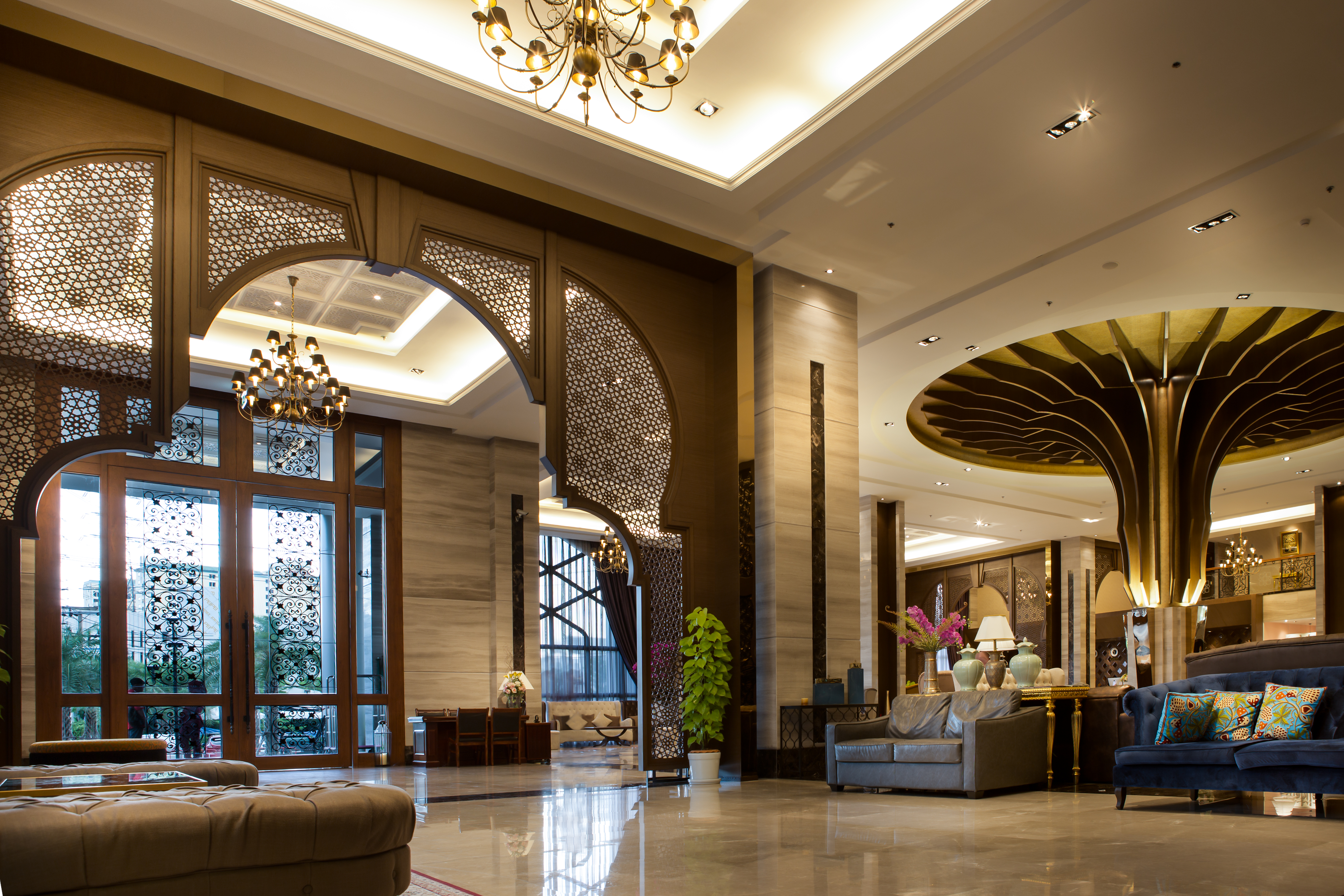 Lobby Al Meroz Hotel2-2