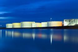 Oil tank @ Ban Laem District