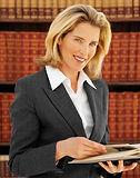 Weiblicher Rechtsanwalt