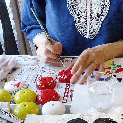 Crane SUZU - Hand Paint