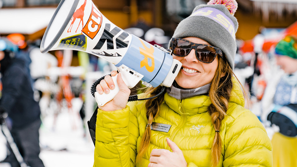 SheJumps International Womens Ski Day