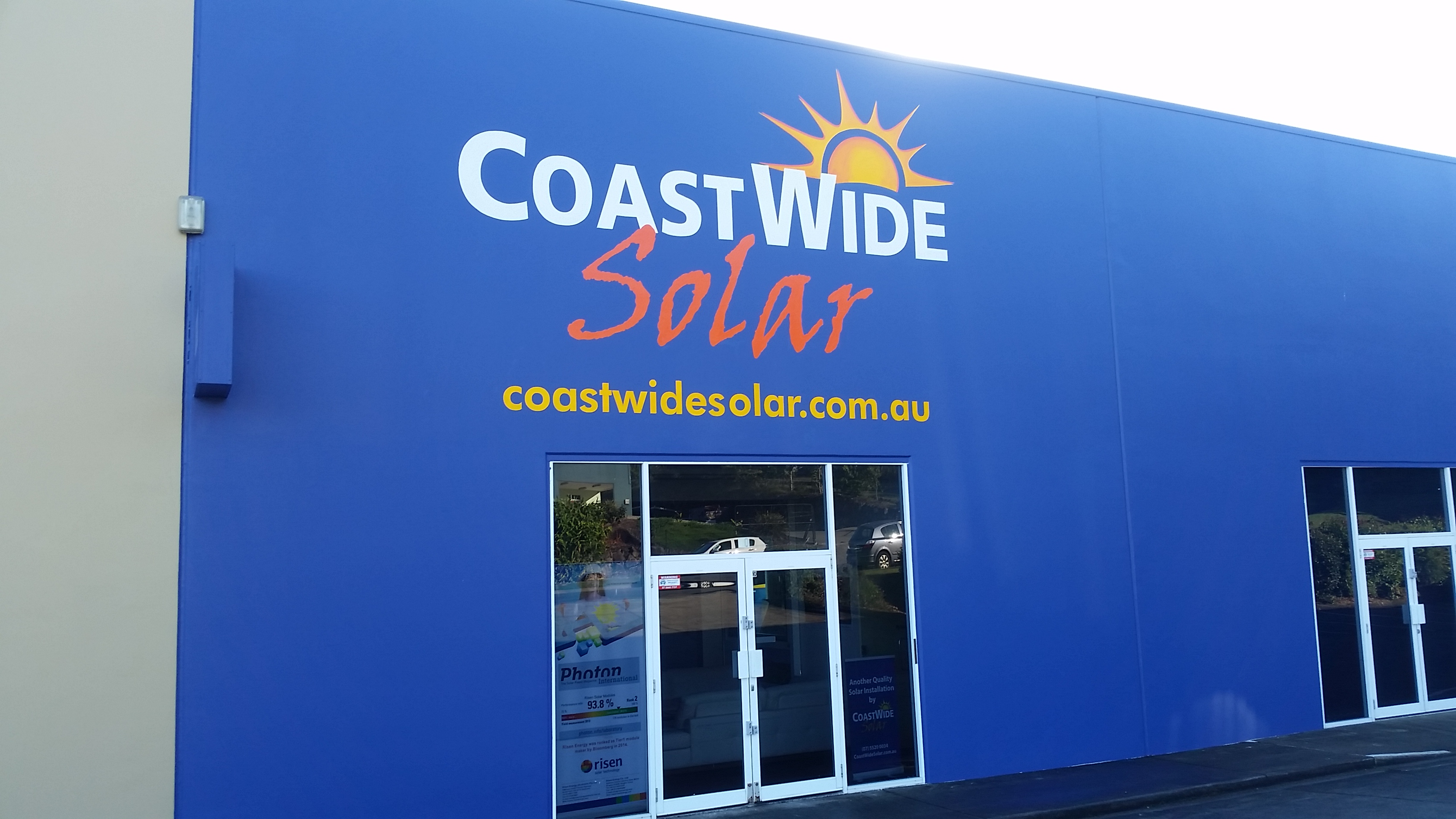 Coastwide Solar Building Front