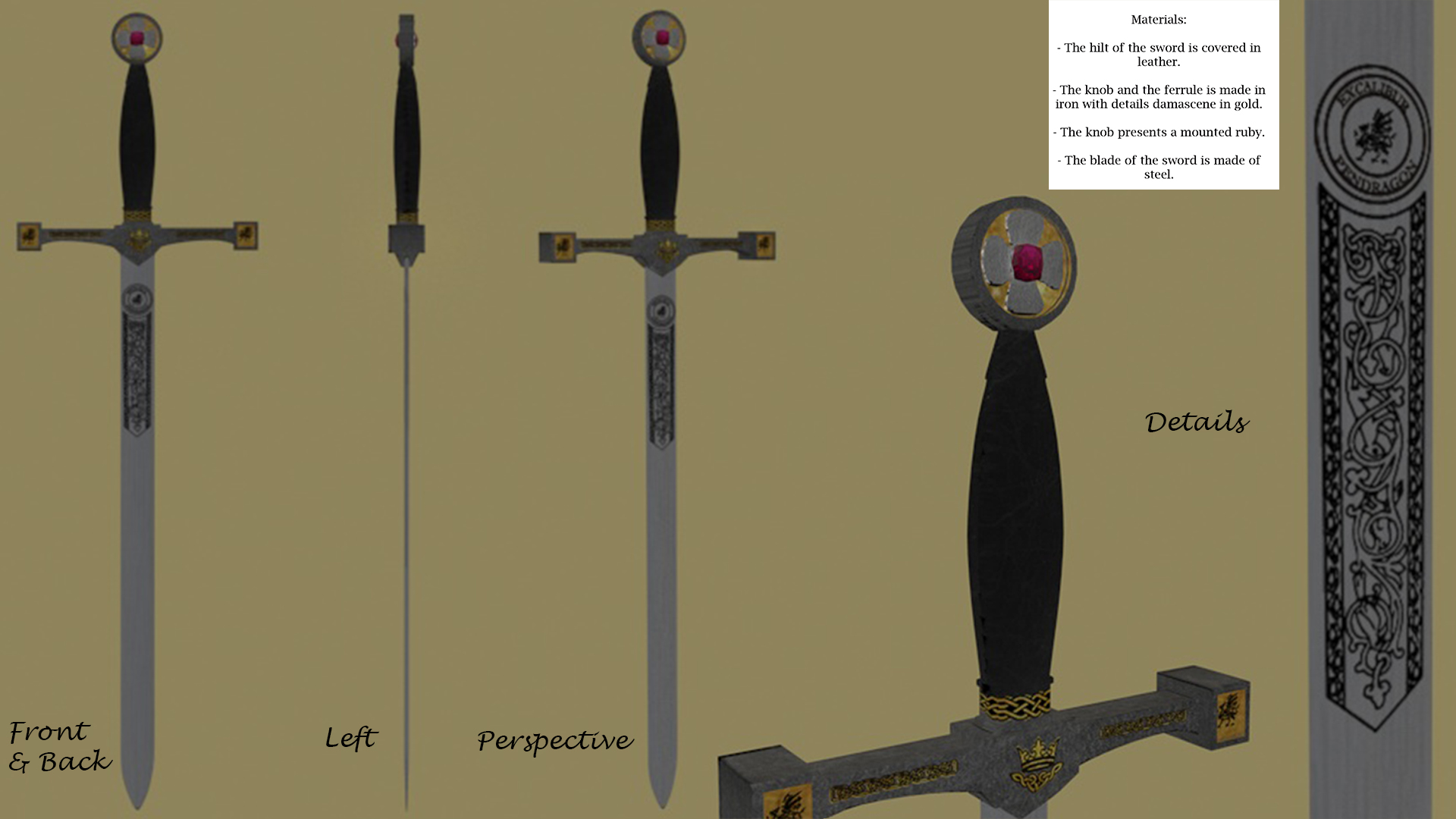King Arthur - Prop Design