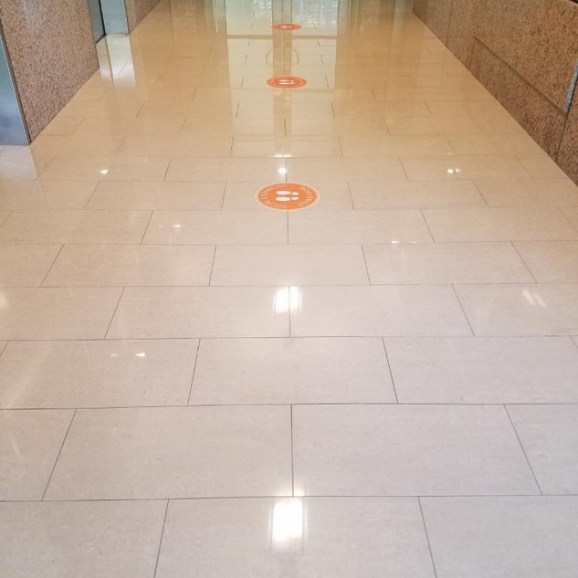 Floors after Marble Polishing